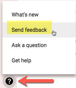 Send Feedback to Google Classroom