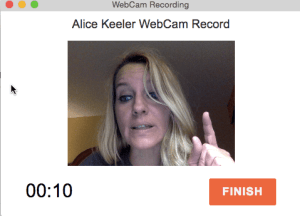 Webcam Recording