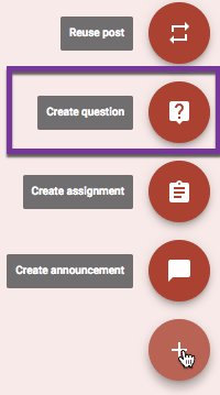 Create Question