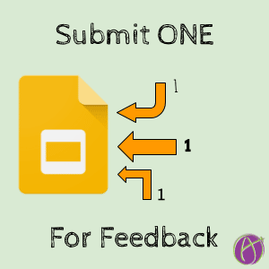 Submit one for feedback