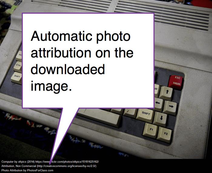 Automatic photo attribution