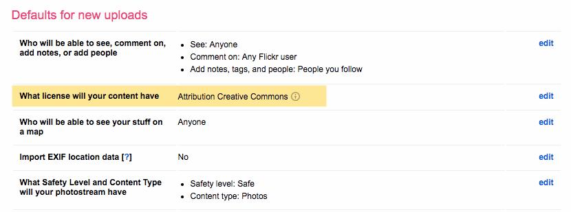 attribution creative commons