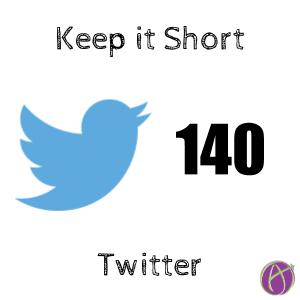 Twitter 140 keep it short