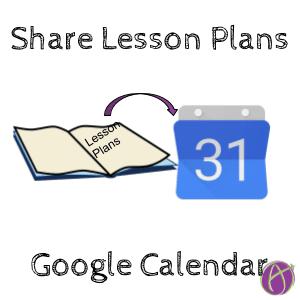 Google Calendar: Create a Curriculum Planning Calendar