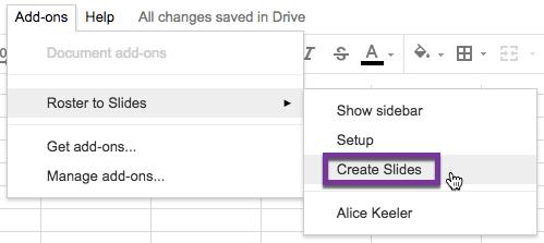 create slides