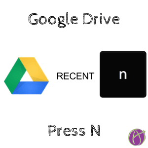 Google Drive Recent Press N