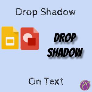 Google Slides: Create a Drop Shadow on Text - Teacher Tech
