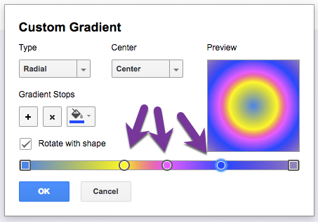 Add more gradient stops