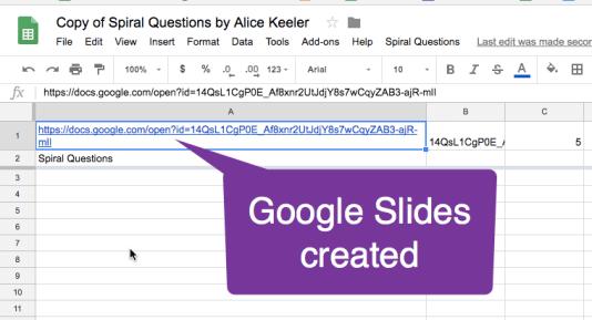 Google Slides Created