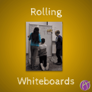 Rolling Whiteboards