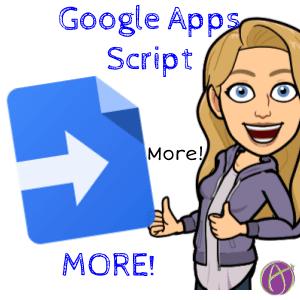 more google apps script