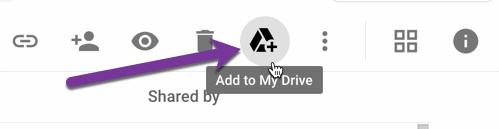 Add to My Drive