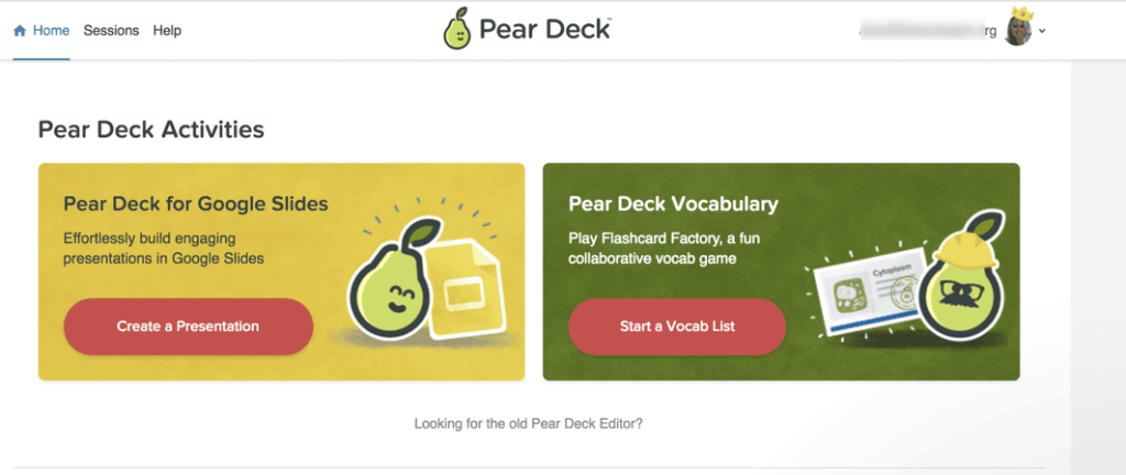 Pear Deck activities