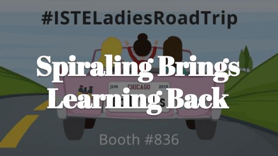 Spiraling brings learning back