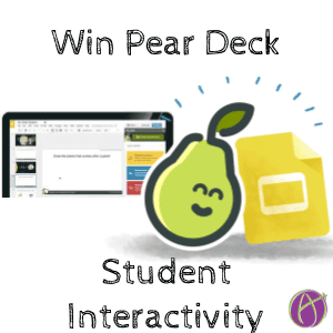 win a copy of pear deck