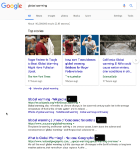 Hold down Control on a Google Search