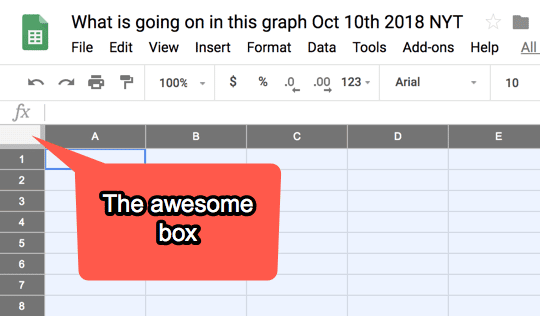 Click the awesome box