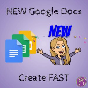 create new google docs dot new
