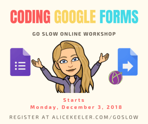 Coding Google Forms