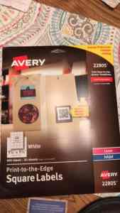 Avery Labels 22805