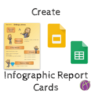 create infographics report cards by Alice Keeler