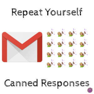 Canned Responses in Google Drive