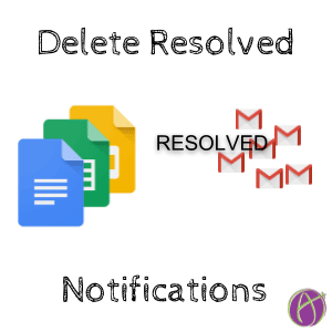 Delete Resolved Notifications