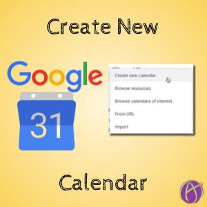 Create a Special Calendar