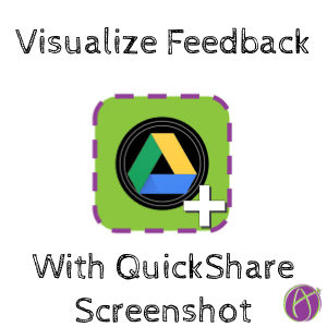 Quickshare screenshot visualize feedback