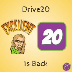 Drive20 is back by Alice Keeler