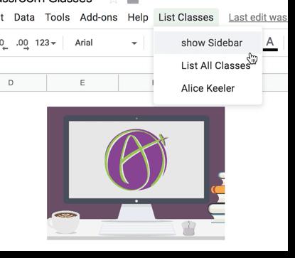Google Classroom: Create a New Class