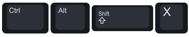 Control Alt Shift X to go to suggestion mode.