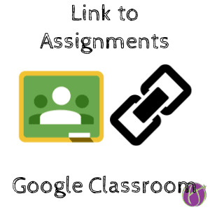 Google Classroom: Copy Link