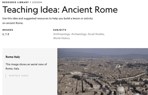 National Geographic Ancient Rome