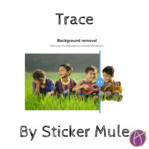 Trace by @stickermule