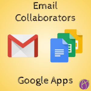 File -> Email Collaborators