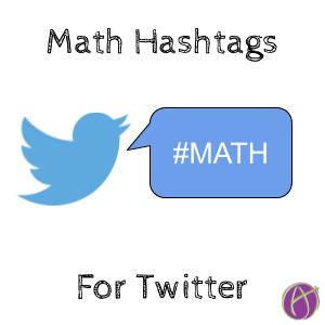 Math Twitter Hashtags