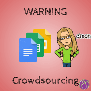 Warning when crowdsourcing Google Apps Documents