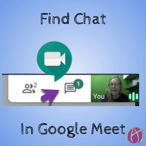 Find Chat in Google Meet