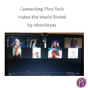 Connecting Thru Tech Makes the World Shrink by @kmcbryar