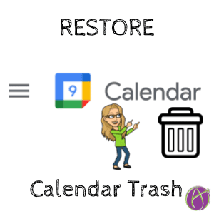 Google Calendar Find the Trash