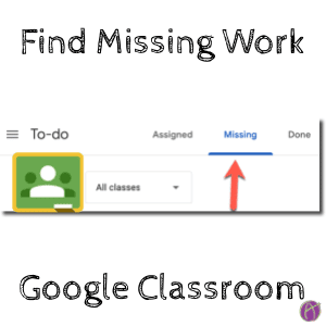 Students Find Missing Work in Google Classroom