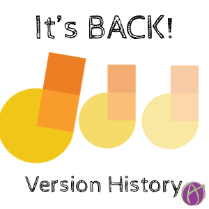 IT's BACK! Google Jamboard Version History
