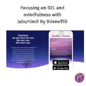 Focusing on #SEL and #Mindfulness with @JabuMind By @Rdene915