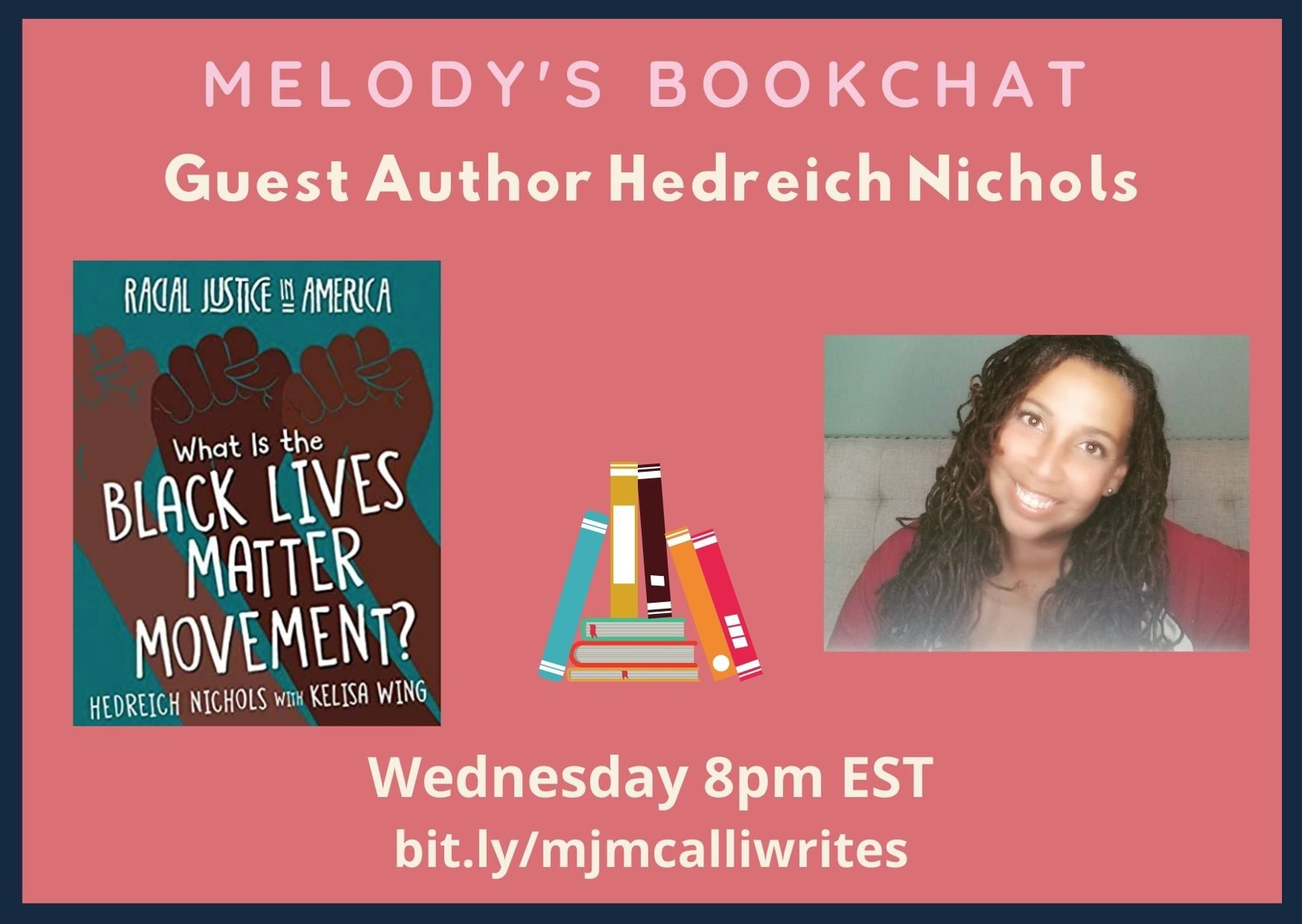 What is the #BLM Movement? #BookChat with @Hedreich & @mjmcalliwrites