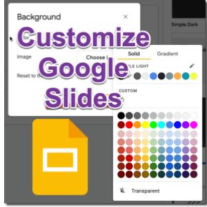 UPDATED: Google Slides Colors