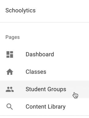 schoolytics student groups