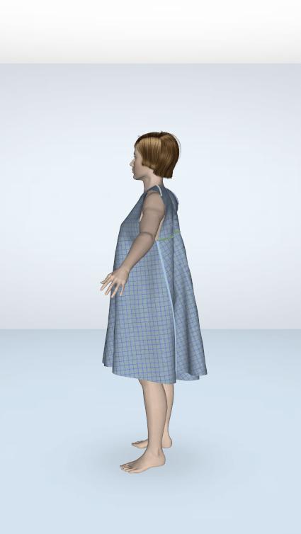 woman sewn