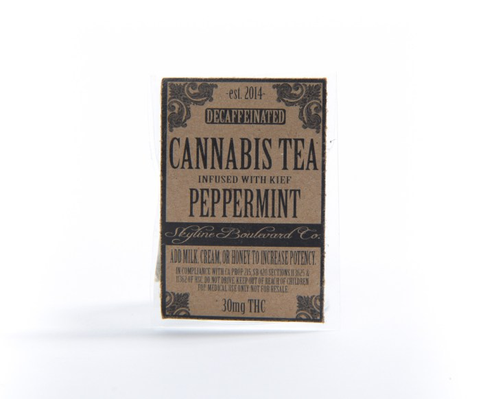 Peppermint Cannabis Tea by Skyline Boulevard Co.