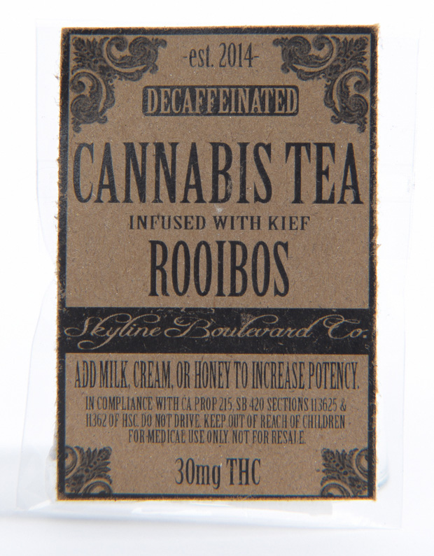 Rooibos Cannabis Tea
